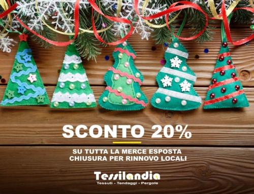 Domenica 23 Dicembre – Sconto 20%